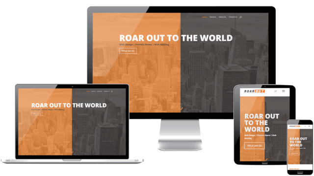 Roar Out Web Design